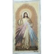 Estandarte Italiano Jesus Misericordioso 53x28