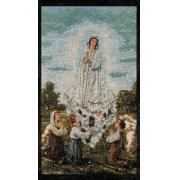 Estandarte Italiano Nossa Senhora de Fátima 51,5x29