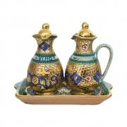 Galheta em Porcelana IHS Bizantino