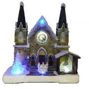 Igreja Luminosa Musical 10.5*26.5*29.5CM