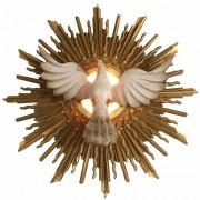 Imagem Espírito Santo com Lâmpada Grande