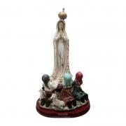 Imagem Nossa Senhora de Fátima com Pastorinhos 60cm