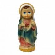 Imagem Imaculado Coração de Maria Infantil 7,5cm