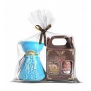 Kit Incenso Nossa Senhora de Fátima (Mini Kit + Incensário)