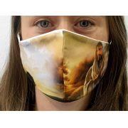 Máscara Coleção Fé - Jesus