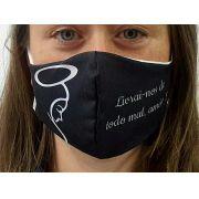 Máscara Coleção Fé - Livrai-nos de todo mal, Amém!