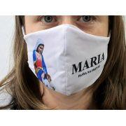 Máscara Coleção Fé - Maria Passa na Frente