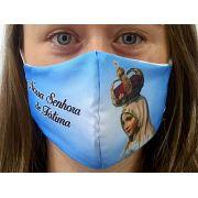Máscara Coleção Fé - Nossa Senhora de Fátima