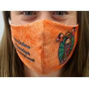 Máscara Coleção Fé - Nossa Senhora de Guadalupe