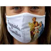Máscara Coleção Fé - Sagrada Família
