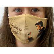 Máscara Coleção Fé - São Francisco de Assis