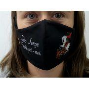 Máscara Coleção Fé - São Jorge