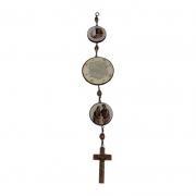 Medalhão de Porta Oração do Lar