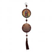 Medalhão de Porta Sagrada Família