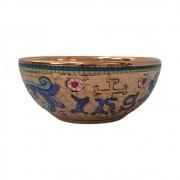 Patena de Consagração Porcelana IHS Bizantino