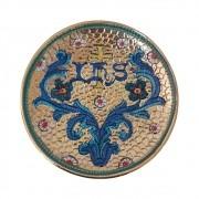 Patena de Porcelana IHS Bizantino