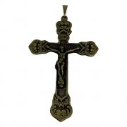 Pingente Crucifixo Ouro Velho 7x4,5cm