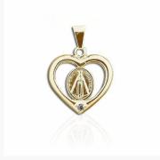 Pingente Nossa Senhora Aparecida Coração
