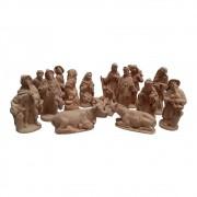 Presépio 15cm Terracota Italiano com 15 peças