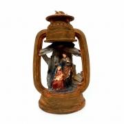 Presépio Lanterna Sagrada Família 22cm