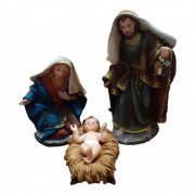 Presépio Sagrada Familia 28cm com 3 peças