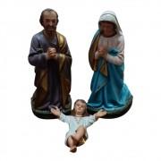 Presépio Sagrada Familia 30cm com 3 Peças