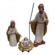Presépio Sagrada Família 35cm com 3 peças