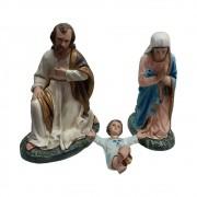 Presépio Sagrada Família 40cm com 3 peças