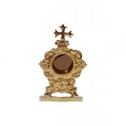Relicário Devocional Dourado