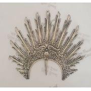 Resplendor em prata 15x16 cm