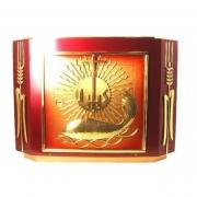 Sacrário Ecumênico PQ 9527 Dourado