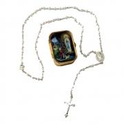 Terço Italiano Pérola Nossa Senhora de Lourdes