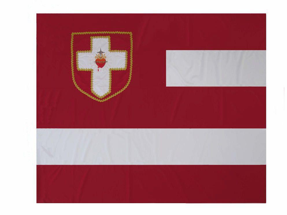 Bandeira do Apostolado da Oração-Sem Laço