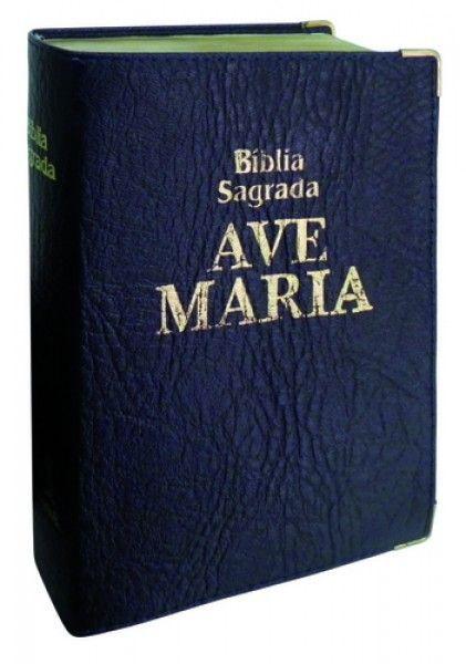 Bíblia Luxo - Bolso - Azul