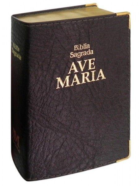 Bíblia Luxo - Bolso - Marrom