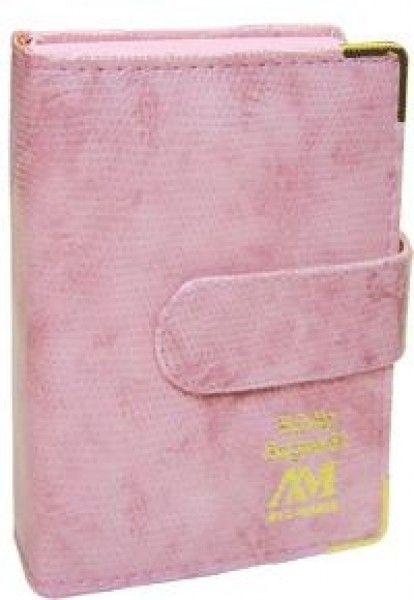 Bíblia Luxo com Fecho - Bolso - Rosa