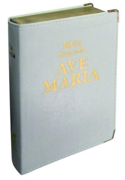 Bíblia Luxo - Média - Branca