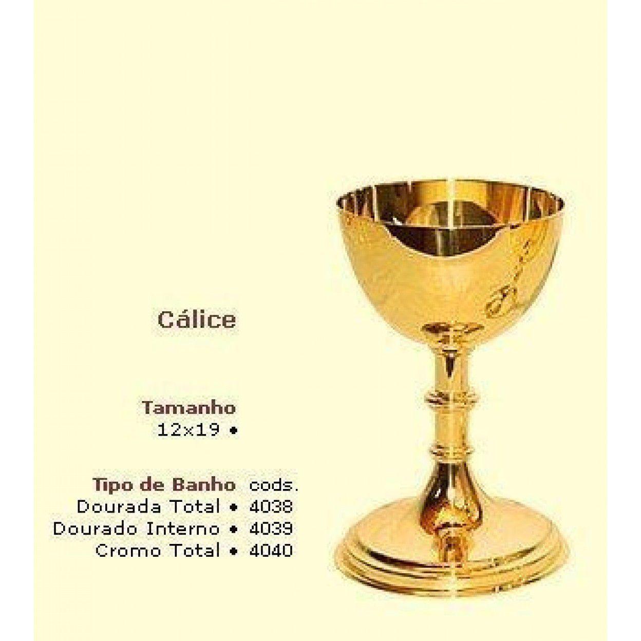 CÁLICE DOURADO ALTO 4038 - 2020