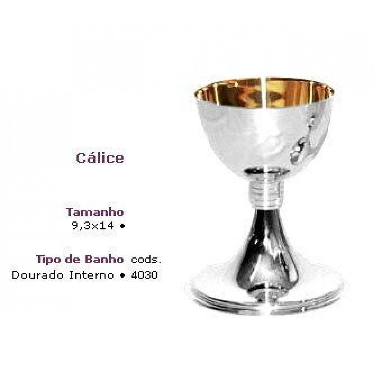 CÁLICE DOURADO INTERNO 4030