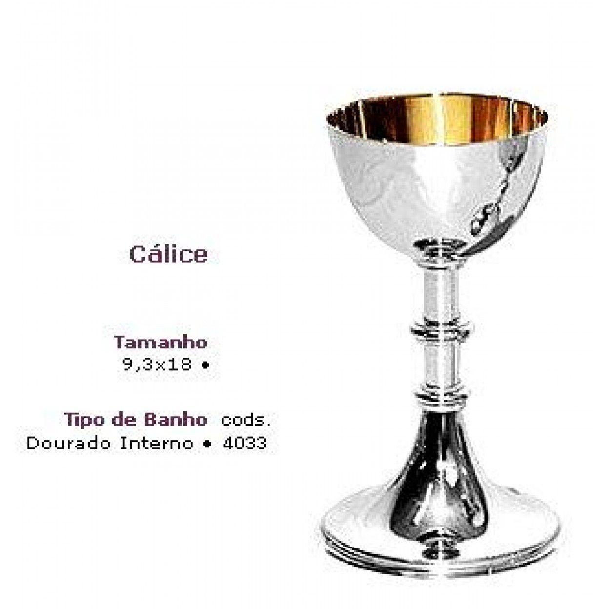 CÁLICE DOURADO INTERNO 4033