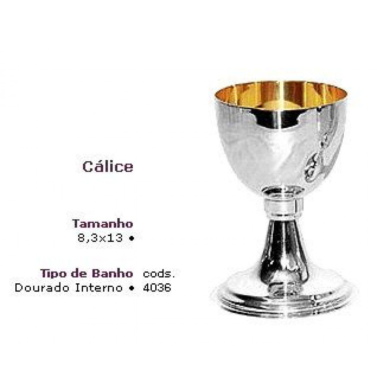 CÁLICE DOURADO INTERNO 4036 - 8014