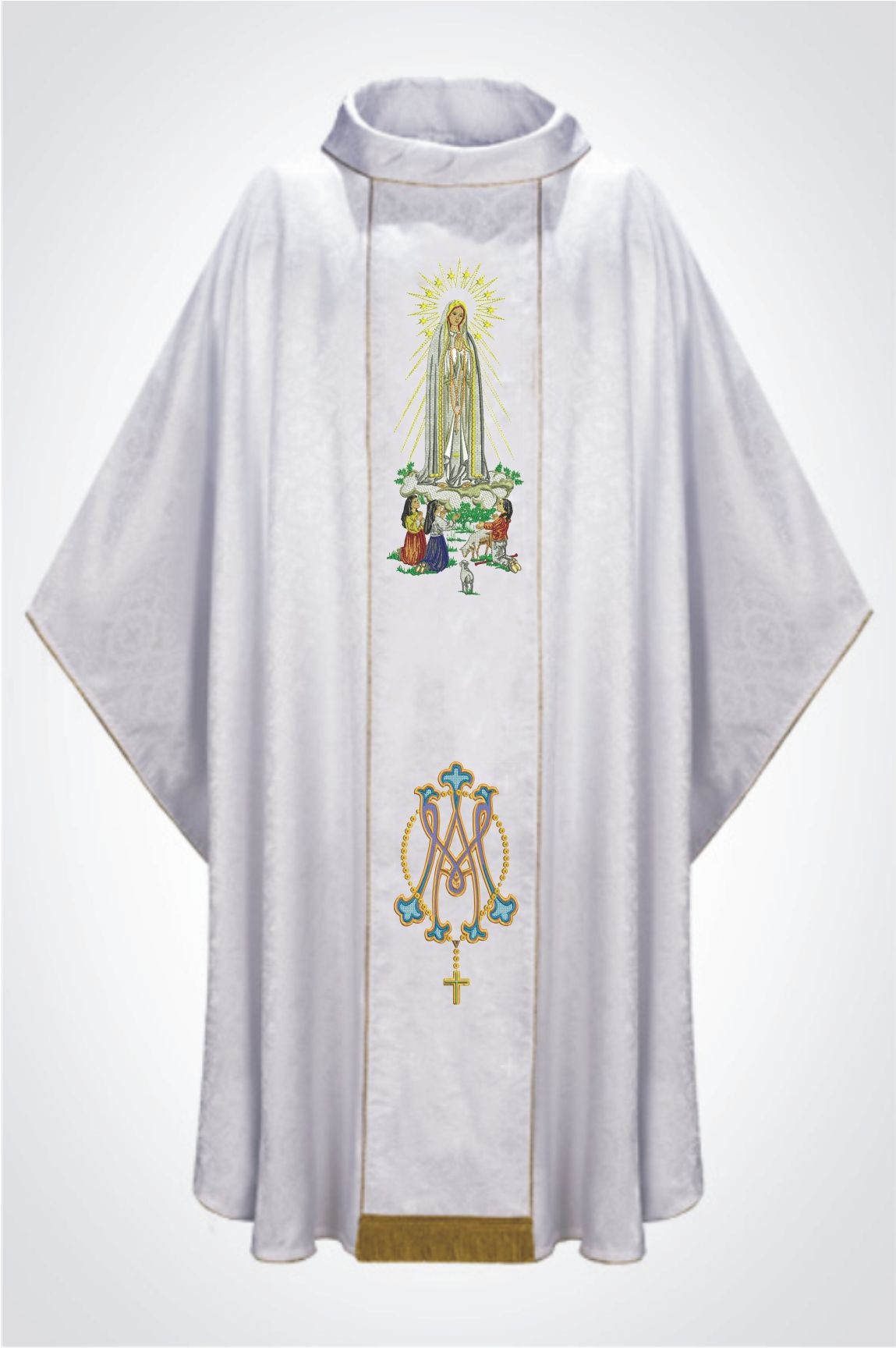 Casula Bordada Nossa Senhora De Fátima