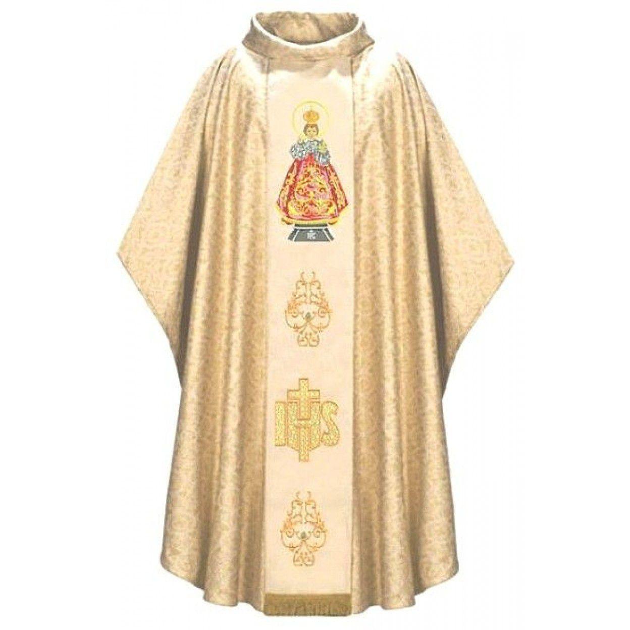 CASULA MENINO JESUS DE PRAGA