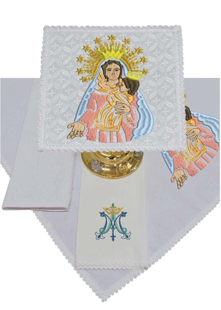 Jogo de Alfaias 300.B116 Nossa Senhora do Novo Caminho