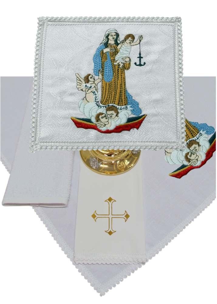 Jogo de Alfaias 300.B132 Nossa Senhora dos Navegantes