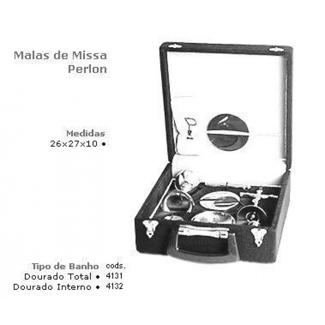MALA DE MISSA EM PERLON 4132