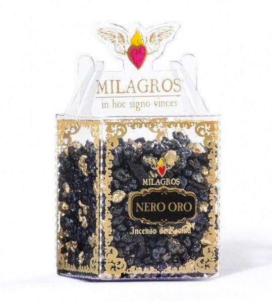 Mini Kit Incenso Nero Oro