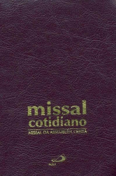 Missal cotidiano da assembleia cristã - Zíper