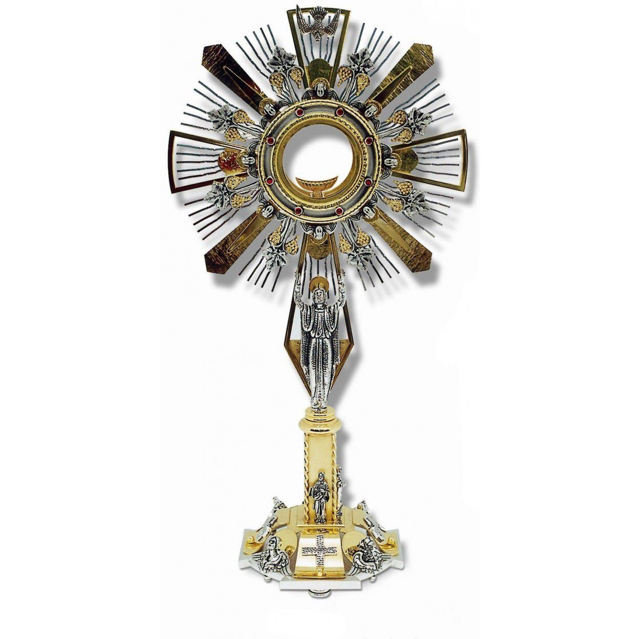 OSTENSÓRIO JESUS RESSUCITADO ITALIANO 14192