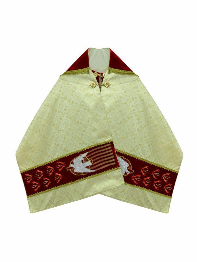 Véu Umeral para Benção do Santissimo com Pedras Swarovski 601.1021